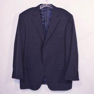 CANALI Blue Suit Jacket Blazer Sport Coat
